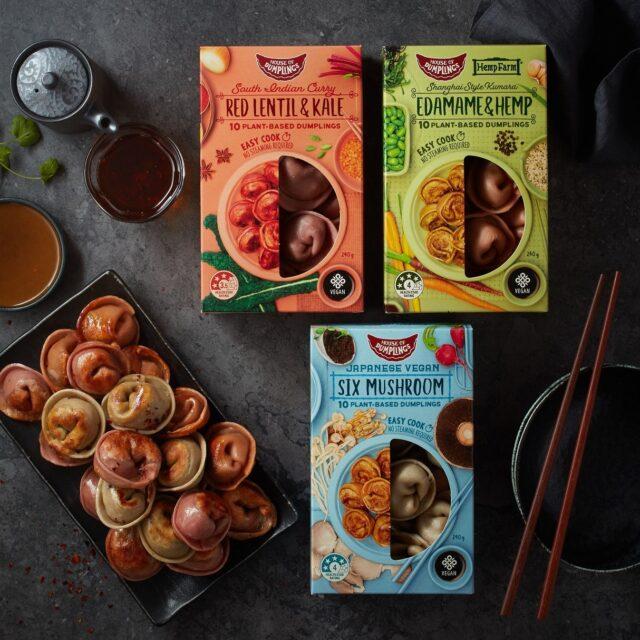 House of dumplings vegan dumplings range
